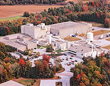 An aerial view of our FDA-Inspected Infant Formula Plant